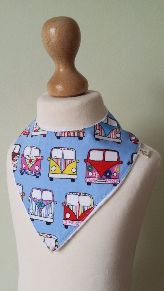 Check out this item in my Etsy shop https://www.etsy.com/uk/listing/287393089/campervan-dribble-bib-baby-bandana-drool
