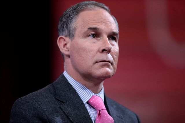 Trump EPA Nominee Would Trash Air And Water Safeguards - this  scoundrel is an insult to the notion that he could uphold environmental standards ! He has no perception of what the EPA even stands for &  given that he will render this important agency useless in very short order. He will surround himself with like-minded people & those of any worth couldn't operate with him!