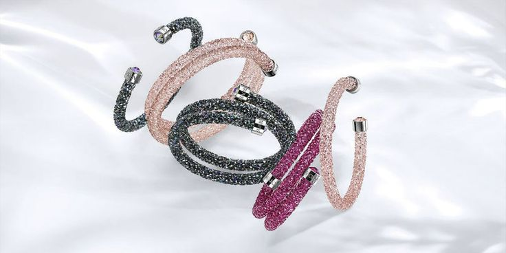 Crystaldust Bracelets by Swarovski ➤ Discover more luxury lifestyle news at www.covetedition.com @covetedition #covetedmagazine @covetedmagazine #luxurylifestyle #swarovski #jewellery @swarovski