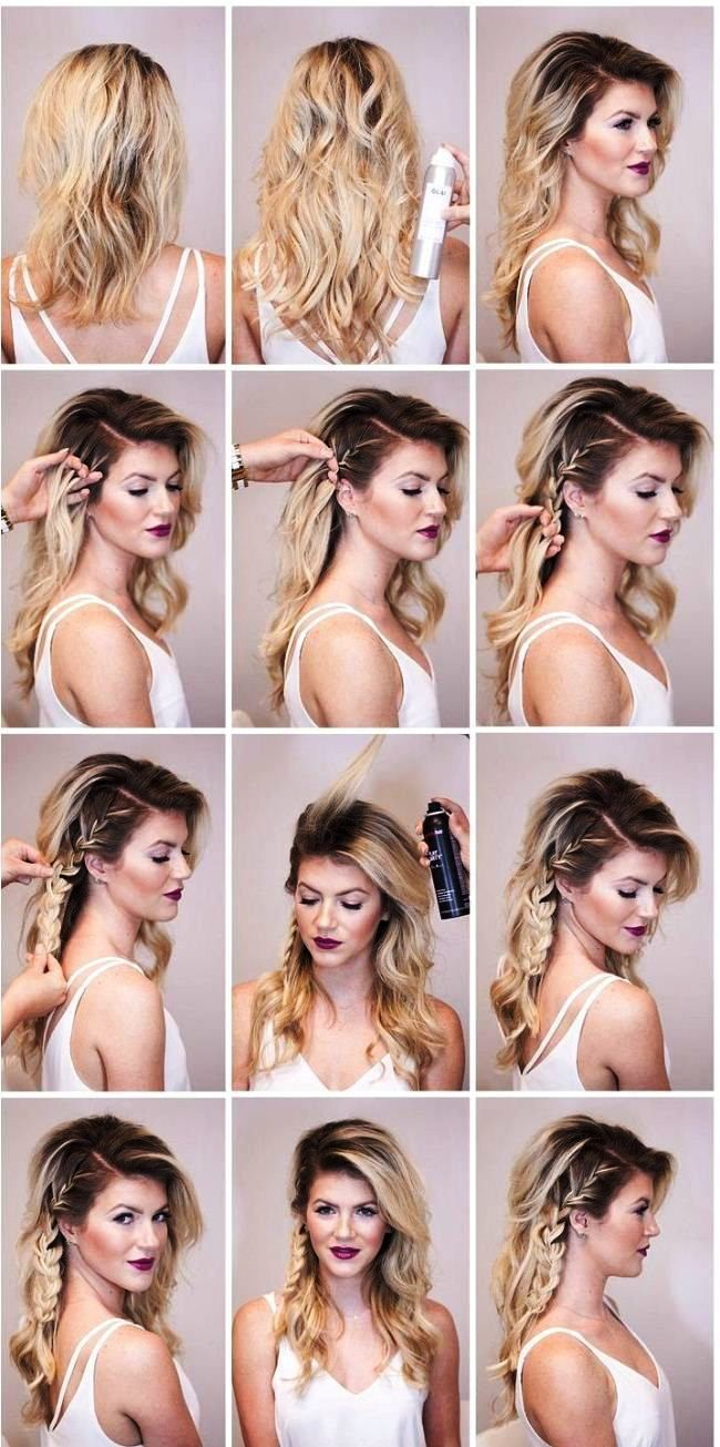 Partymakeup Hairstyle Hairsty Hairstylist Hairdo Edgy Hair Medium Length Hair Styles Hair