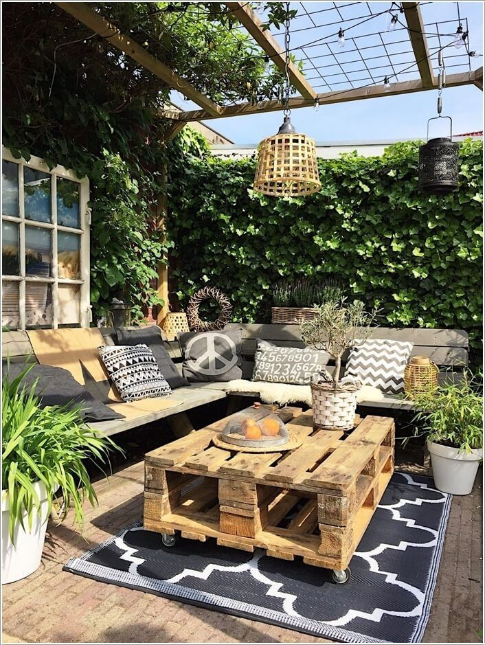 13 Diy Outdoor Coffee Table Ideas Holtz House Pinterest