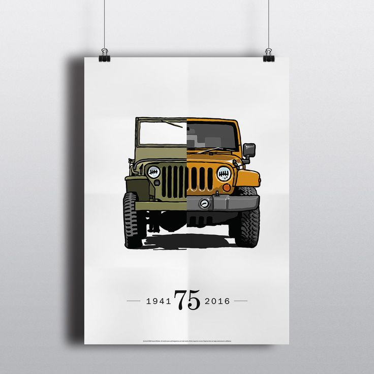 Commemorate the 75th anniversary of this legendary vehicle with this unique and…