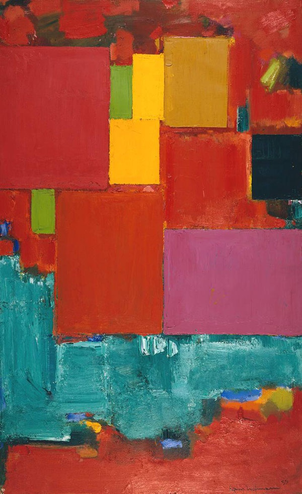215 best images about artist hans hofmann on pinterest for Abstract impressionism definition