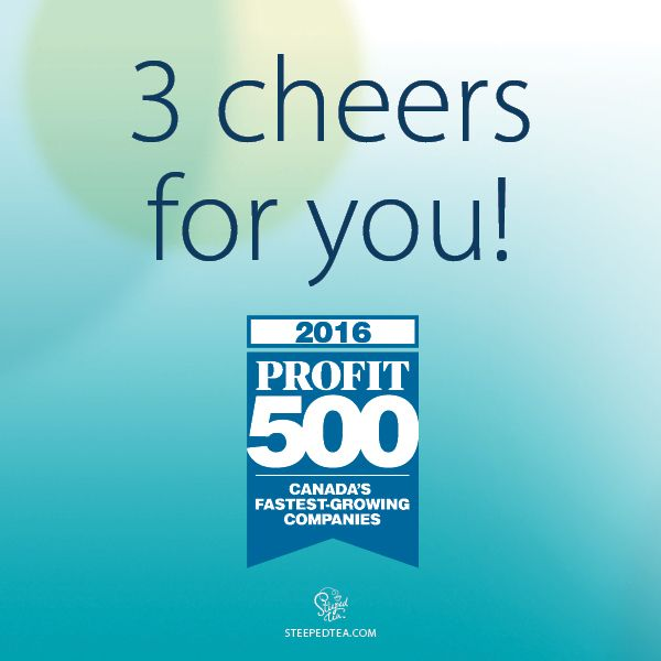 We're proud to be #24 on the 2016 PROFIT 500