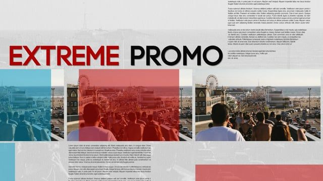Extreme Promo is the multipurpose After Effects Project. It is fast, dynamic and fast render times, interactive, modern! This multipurpose After Effects Template very easy to customize with endless possibilities, modular project. And its the most easy-to use after effects project on the market! This after effects template very clean and multipurpose project can be used for any type of video production, from broadcast, business promo, corporate, movie intro, slideshow, bumper, etc.