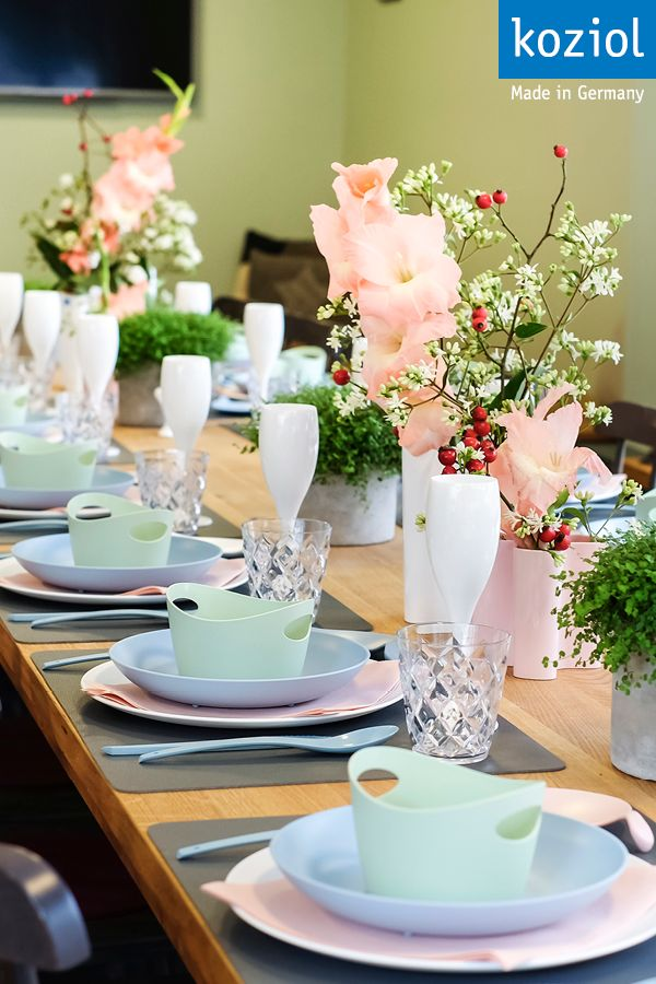 #koziol #koziolove #table #tablesetting #tabledecor #tabledecoration  #homedecor #homedecoration