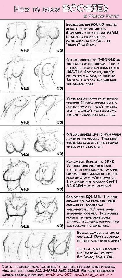 Caramba não acredito que ainda não postei isso aqui pra gente. Bem vamos lá, a parte do corpo feminino que eu mais tenho dificuldade é os se...