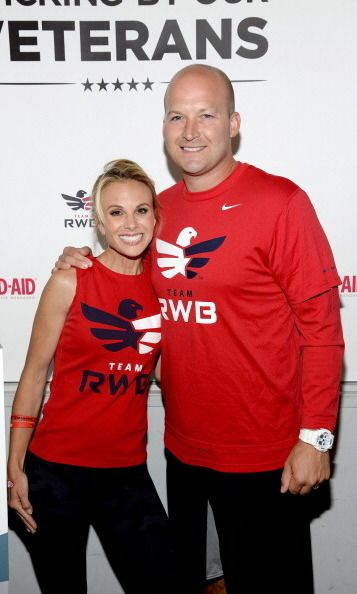 Elisabeth Hasselbeck and Tim Hasselbeck  Elizabeth and Tom, who were college sweethearts, tied the knot in 2002 and are parents to Grace, Taylor and Isaiah.