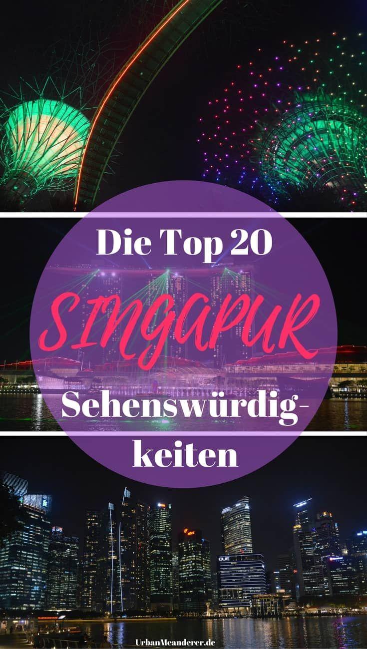 Du planst einen längeren Aufenthalt oder einen Stopover in Singapur? Dann lass dir in beiden Fällen möglichst keine dieser Top 20 Singapur Sehenswürdigkeiten entgehen.