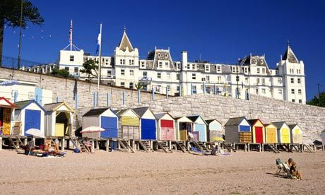 Looking for inspiration for the open art exhibition at Harbour House - Devon: A Contemporary View? Torquay Beach Huts.