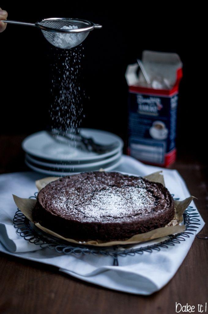 Kladdkaka schwedischer Schokoladenkuchen - bake-it.net