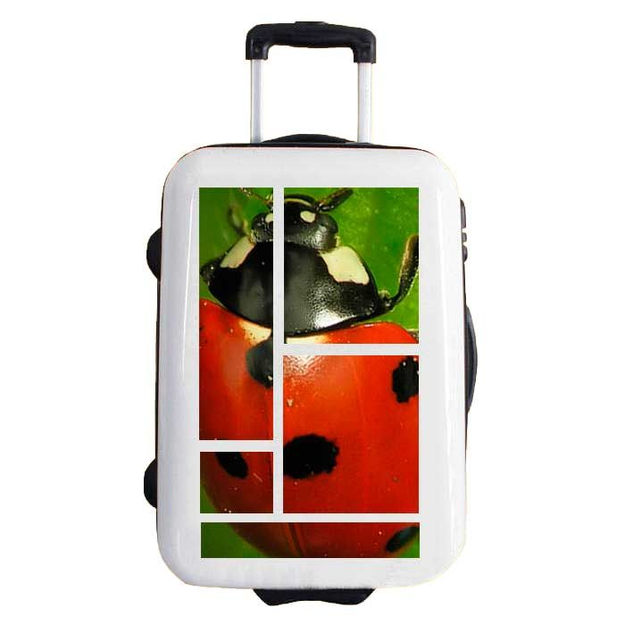 "Sticker por costumize your suitcase. 2DIFFER, model QV11 ""lady bird"""
