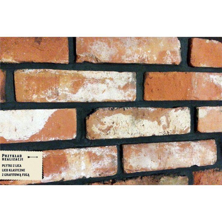 Płytki z lica - klasyczne - Retro cegły