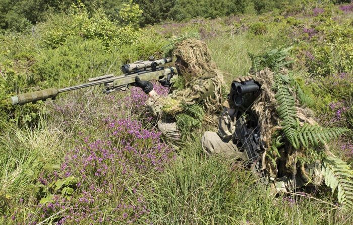 Royal Marines Sniper Training | Royal Navy