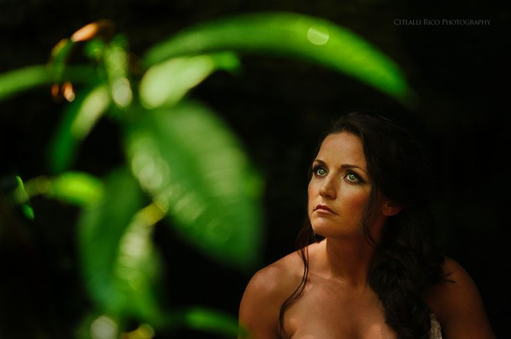 Trash the dress cenote Riviera Maya