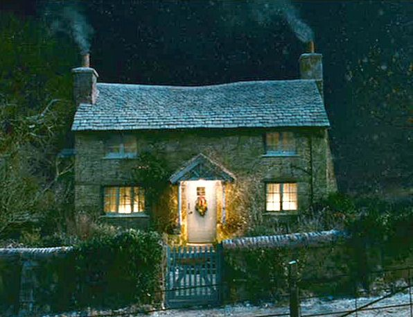 The Holiday movie stone cottage.  Turns out it's actually fake which is kind of depressing.