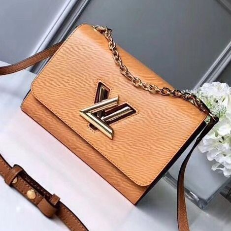 04c1881f9661 Louis Vuitton Epi Twist MM Bag M51884 Beige 2018 (Gold Hardware ...