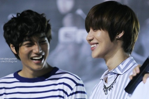 Taemin And Kai Best Friends
