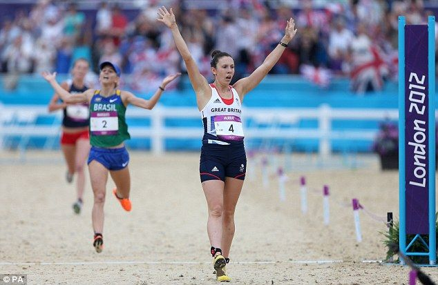 Samantha Murray Silver medal  Pentathlon