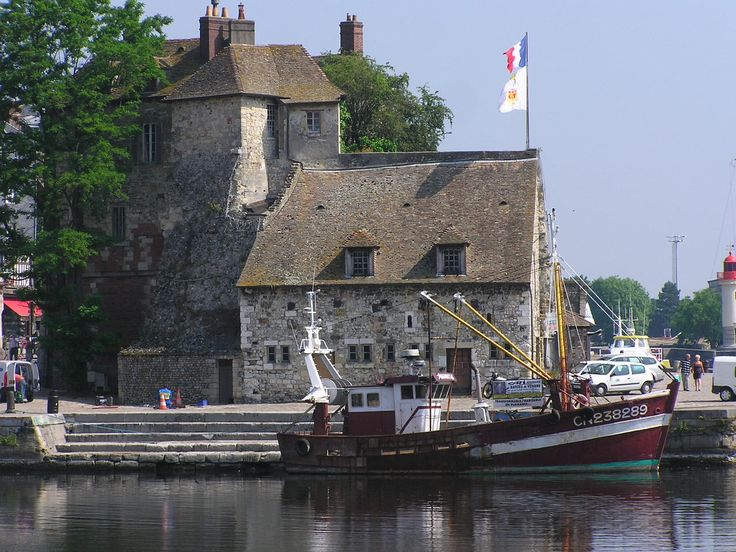 honfleur to d-day beaches