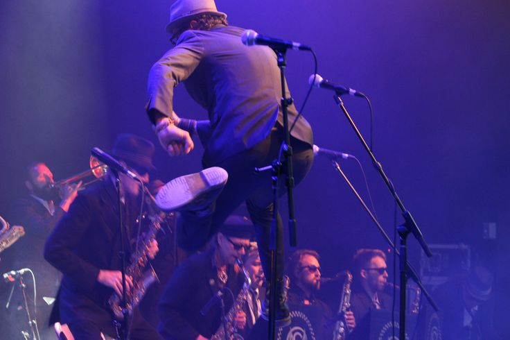 If you missed Melbourne Ska Orchestra's performance at NLFB, this is a good example of their energy level.