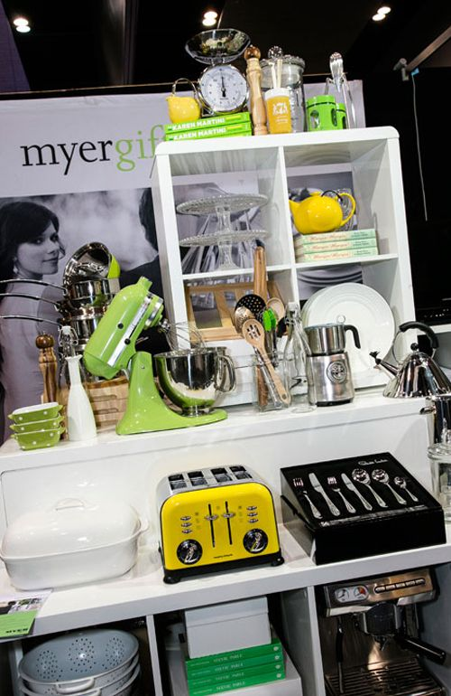 Myer Gift registry will be on stand 89.