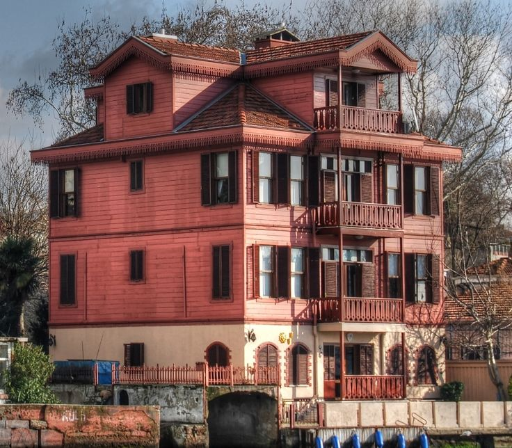 An old Ottoman Yali mansion of the Bosphorus in Istanbul