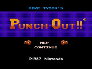 Punch Out - Boxing - NES