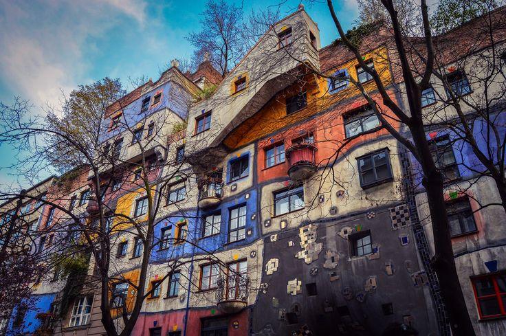 Casa Hundertwasser, Hundertwasserhaus (Vienna - Austria)