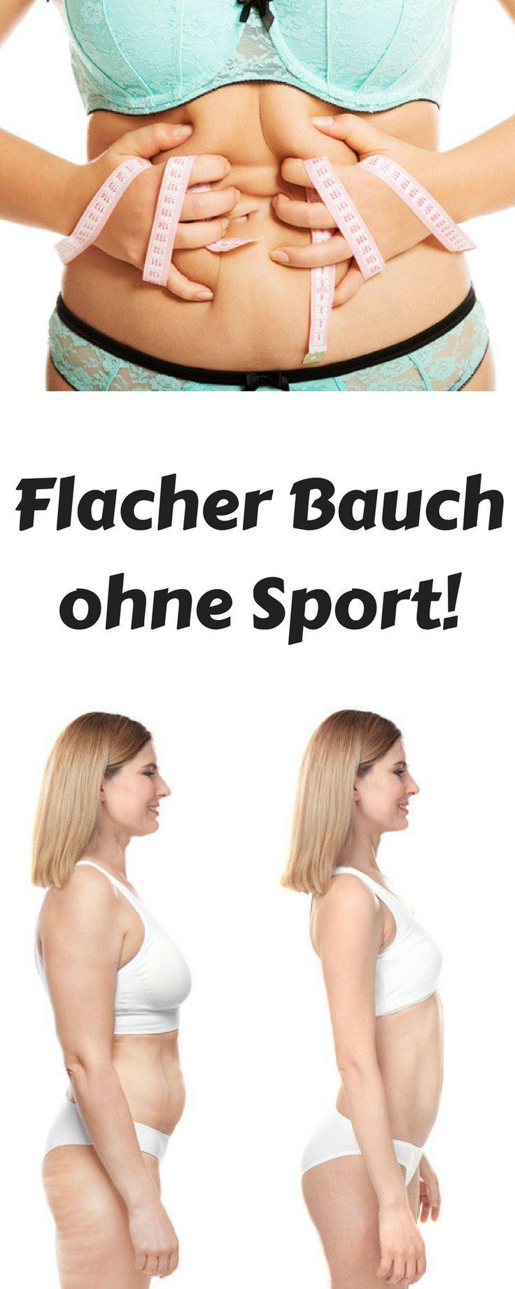 Flacher Bauch ohne Sport, Flacher Bauch schnell, Flacher Bauch abnehmen, Flacher…