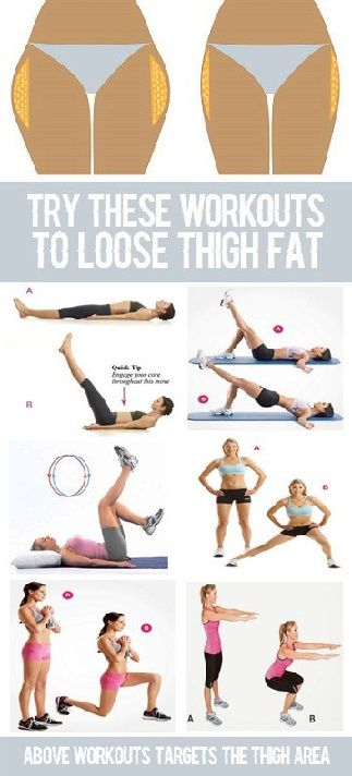 Exercises That Make You Lose Weight In Your Thighs