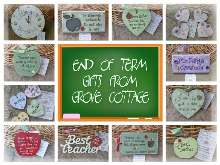 End of term gifts www.grovecottagesigns.co.uk #handmade #grovecottage #woodengifts #endofterm #school #teachers