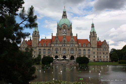 Steinhude am Steinhuder Meer: Neues Rathaus Hannover