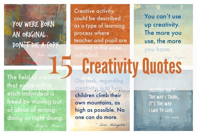 Pinterest Quotes About Creativity: 32 Best Images About Creativity And Art Quotes On Pinterest