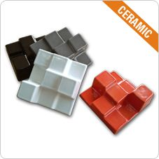 Diffusion panel SQUARYDIFFUSOR Ceramic finishing Available in 6 colours NRC : 0.22 Average diffusion : 0.47 Standard size (15 x 15cm) Walls and Ceilings ready applications Fire-resistance: B0 Installation: adhesive glue for ceramics. 100% recyclable