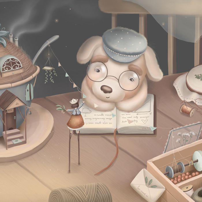 Tea-mood - Katya Maleev illustrations