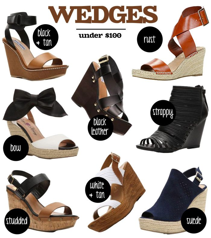 A slice of comfort: Wedges Under $100! #wedges #summerstyle www.fatfreefashion.com