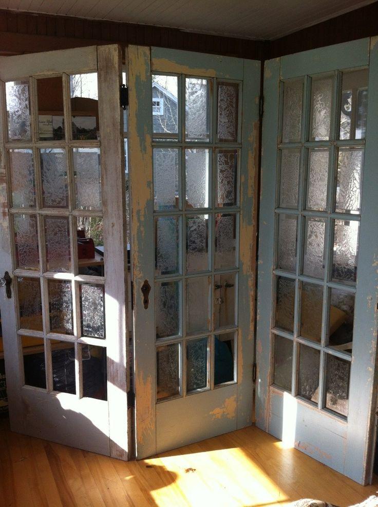 Antique Doors In The Garden Doors Pinterest Room