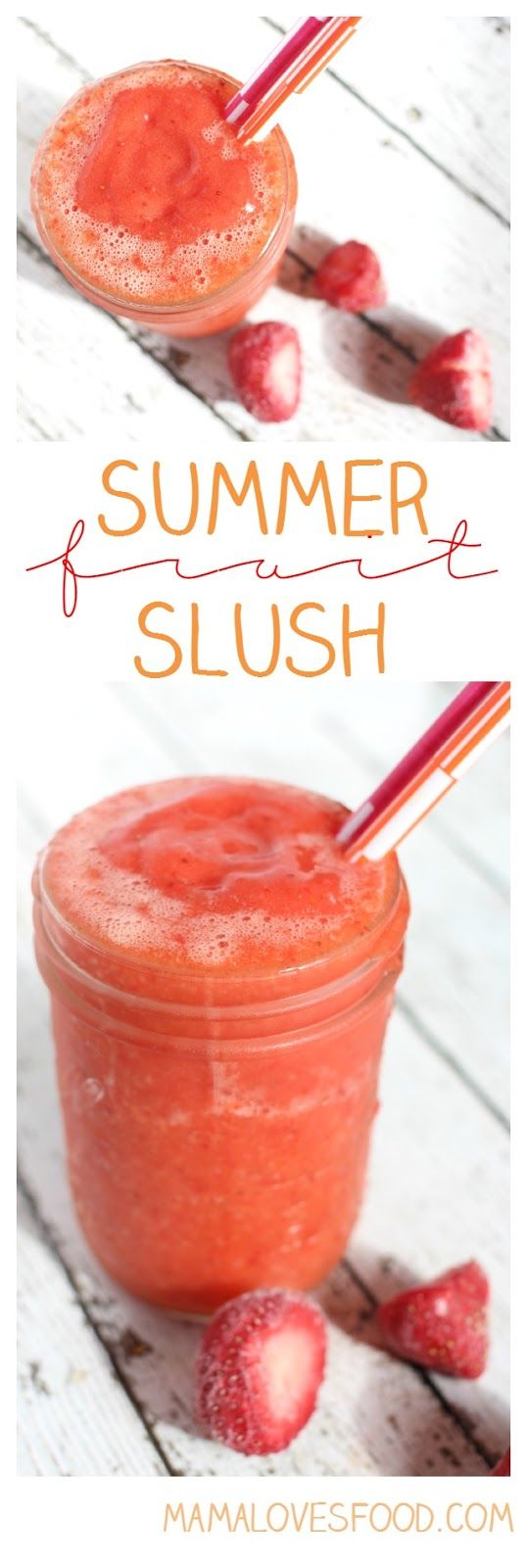 Summer Fruit Slushes - Only TWO Ingredients #WhereFunBegins #Ad @samsclub
