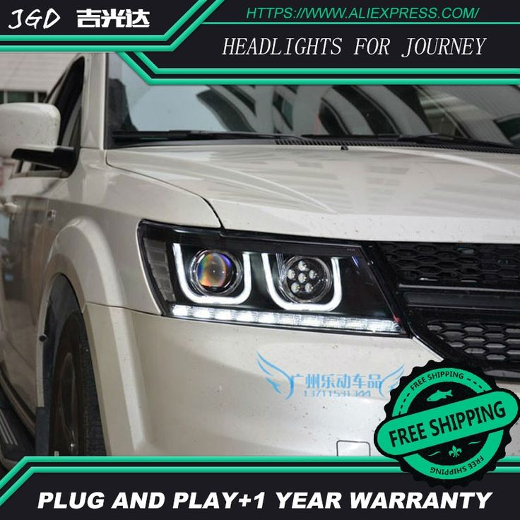 550.05$  Watch here - http://aliky2.worldwells.pw/go.php?t=32774595701 - high quality Car Styling for Dodge Journey 2009-2015 Headlights LED Headlight DRL Lens Double Beam HID Xenon Car Accessories