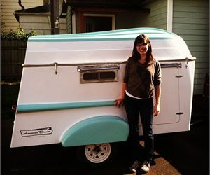 Teardrop Trailer and Rowboat Combo - Do It Yourself RV