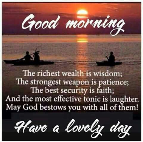 Have a lovely day, Love ..