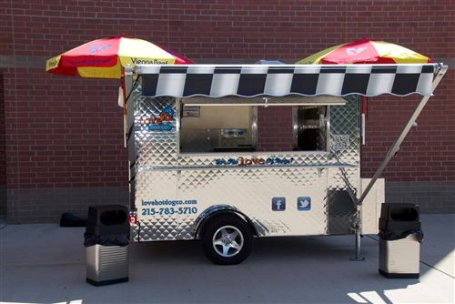 Mobile Food Cart For SalesFood Van Street Vending SalesHot Dog Trailer With Big Wheels US 250000