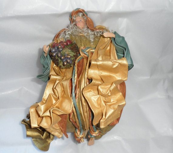 INSPIRATIONAL ASCENDING ANGEL/ Sculptured Fabric Mache by BYGONERA