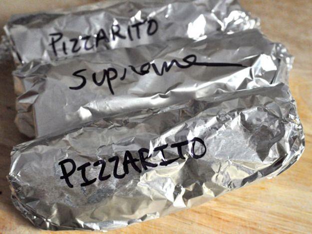 Home Slice: How to Make a Pizza Burrito