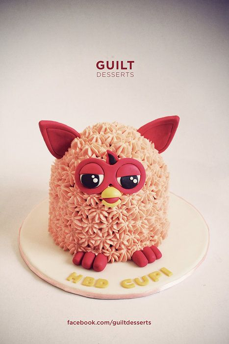 Furby - by guiltdesserts @ CakesDecor.com - cake decorating website