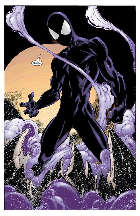 Ultimate Symbiote Spider-Man (Ultimate Spider-Man #34, 2003) Mark Bagley (Pencils) Art Thibert (Inks)
