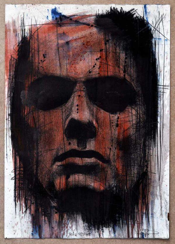 Red Propeller Urban Art Gallery: Flag Red by Guy Denning. #guydenning http://www.widewalls.ch/artist/guy-denning/