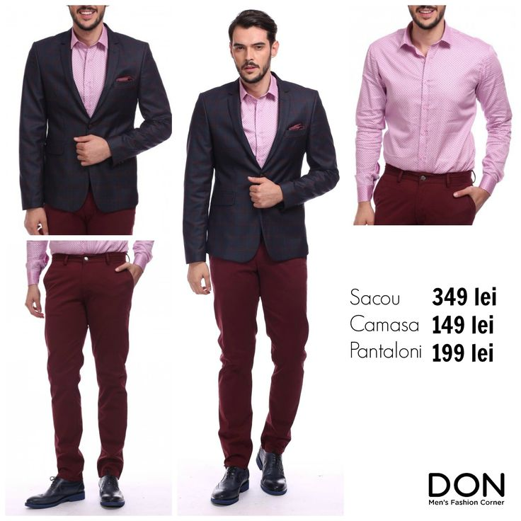 SHOP THE LOOK - 627 lei don-men.com #donstyle