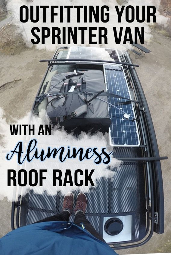 @bearfoottheory blog post with pictures and a complete review of the Aluminess roof rack, ladder and rear bumper system